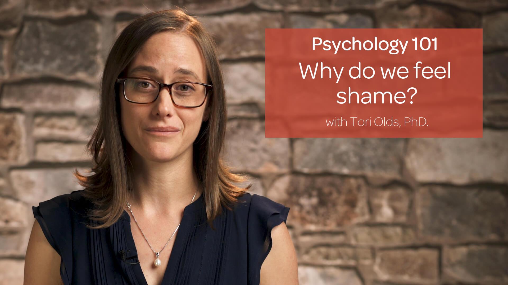 Why Do We Feel Shame?