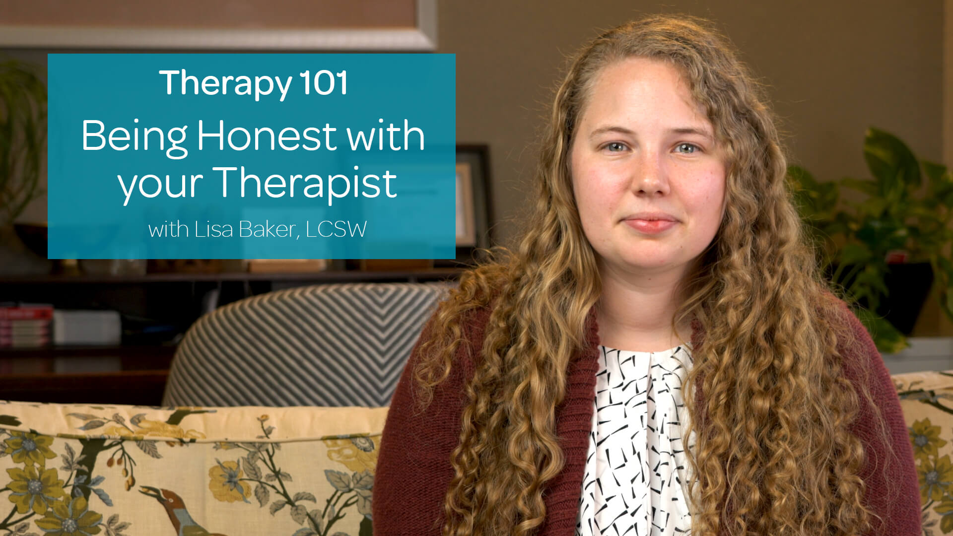 Being Honest with your Therapist