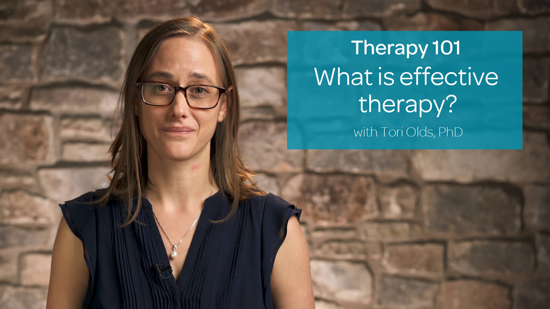 What is effective therapy?