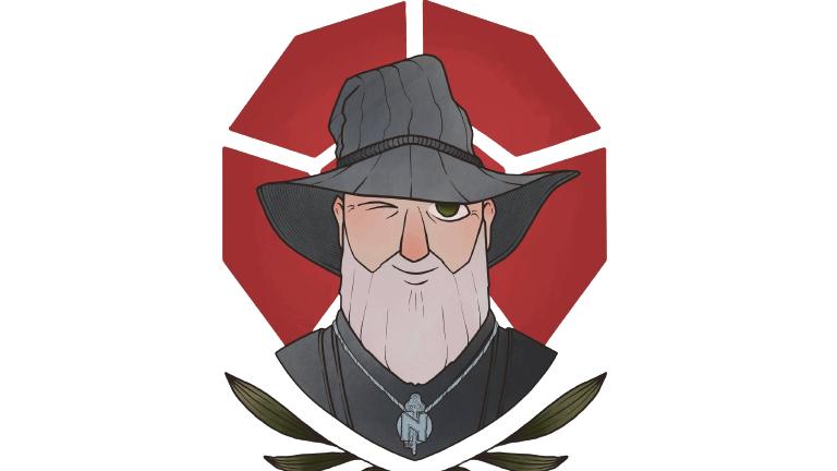 The Wandering Wizard Logo